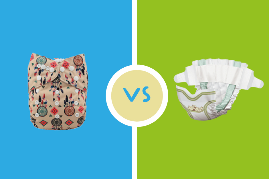 pañales ecológicos vs pañales desechables