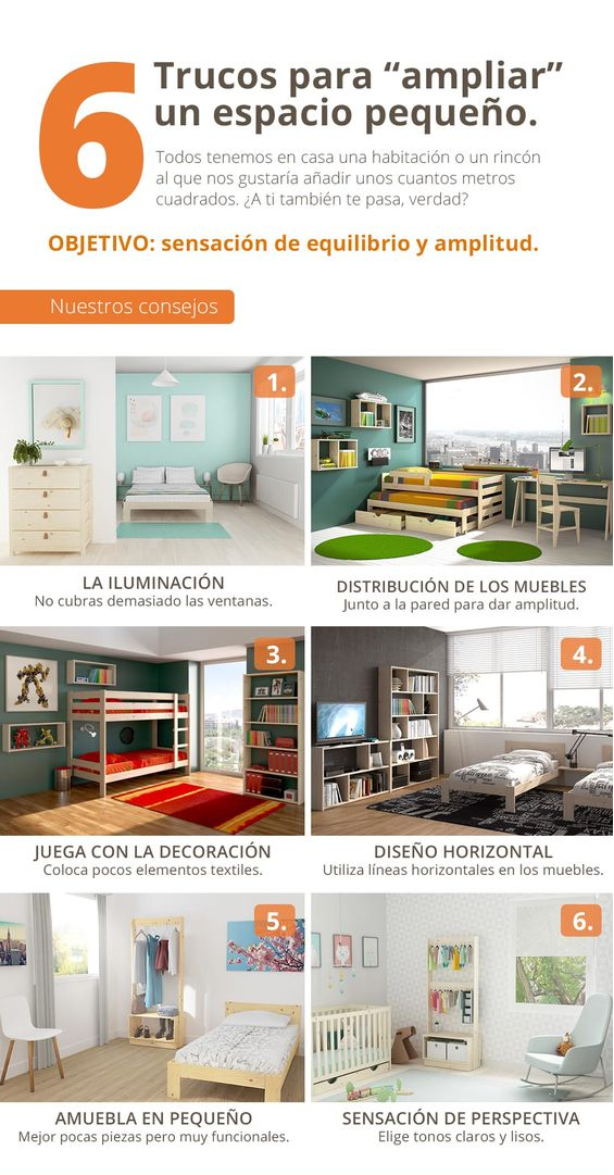 Diseño para espacios pequeños