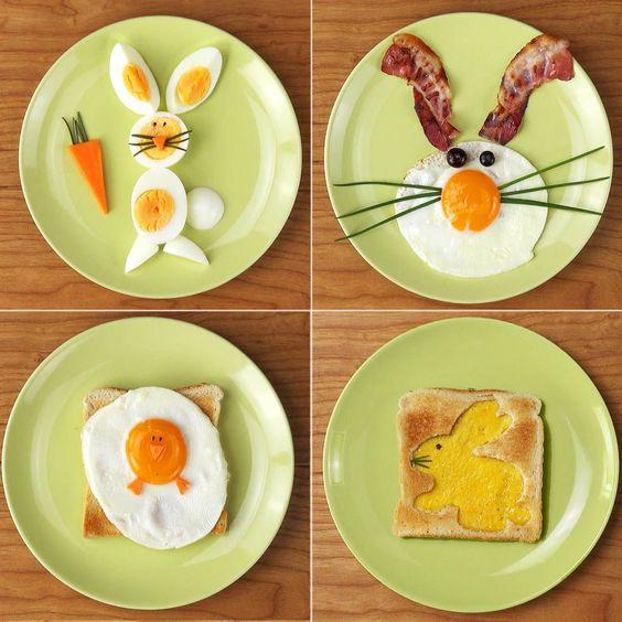 Recetas para niños con huevos estrellados