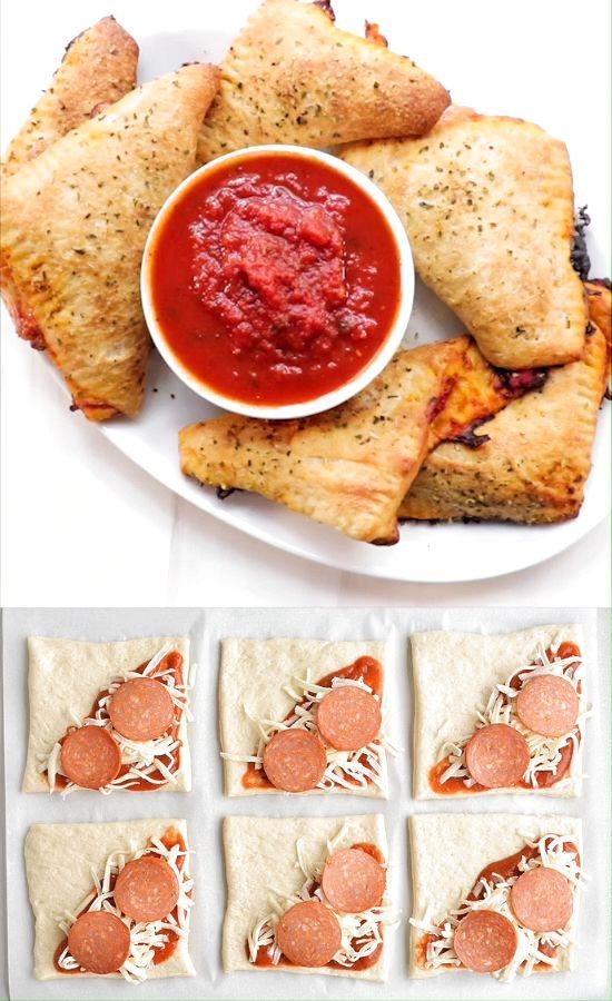 Empanadas de pepperoni