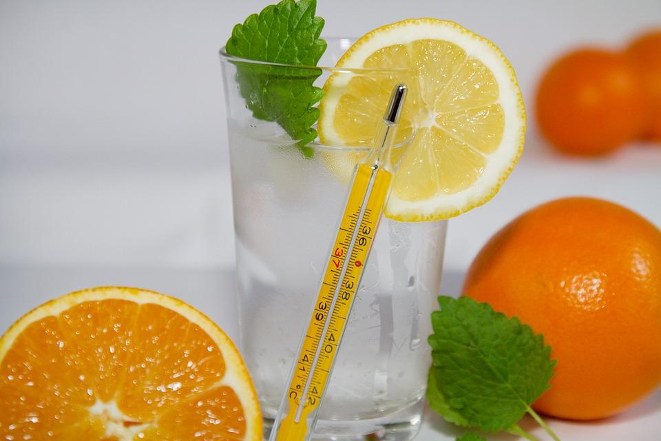Bebida de naranja  natural