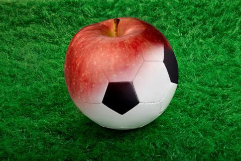 los futbolistas y las vitaminas