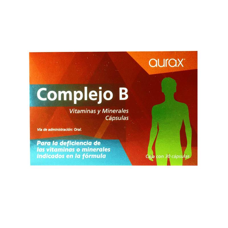Caja de complejo B Aurax