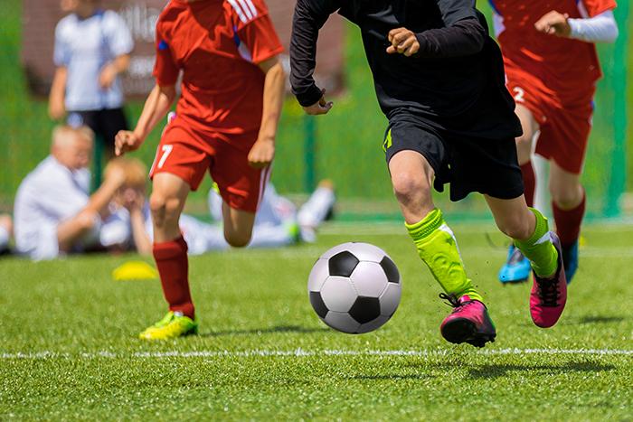deportes de contacto como el fútbol